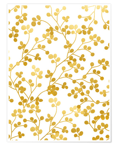 Premiumposter Golden Vines