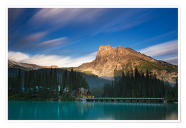 Premiumposter Emerald Lake, British Columbia - Long Exposure