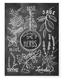 Premiumposter  Herbs - Lily & Val