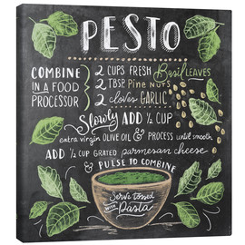 Canvastavla  Pesto recept - Lily & Val