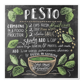 Premiumposter Pesto recept