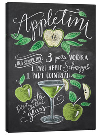 Canvastavla  Appletini recept - Lily & Val