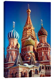 Canvastavla  St. Basil's Cathedral, Russia