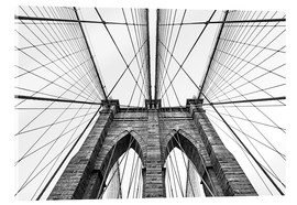 Akrylglastavla  Brooklyn Bridge