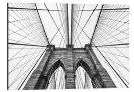 Aluminiumtavla  Brooklyn Bridge