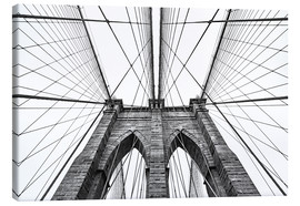 Canvastavla  Brooklyn Bridge