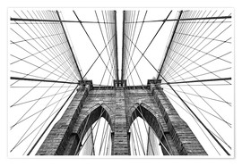 Premiumposter  Brooklyn Bridge