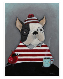 Premiumposter Boston Terrier