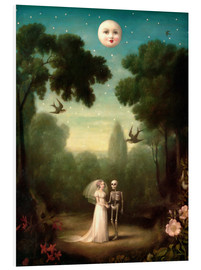 PVC-tavla  The Moon's Trousseau - Stephen Mackey
