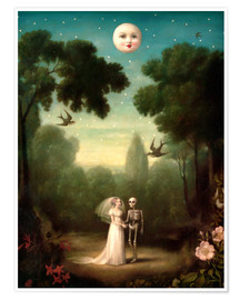 Poster  The dowry of the moon - Stephen Mackey