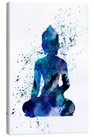 Canvastavla  Blue Buddha - Dani Jay Designs