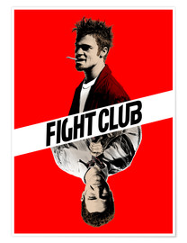 Poster  Fight Club - Paola Morpheus
