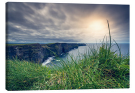Canvastavla  View over the cliffs of Moher, Ireland