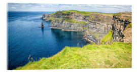 Akrylglastavla  The famous Cliffs of Moher in Ireland