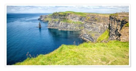 Premiumposter Cliffs of Moher i Irland
