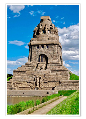 Premiumposter The Monument to the Battle of the Nations