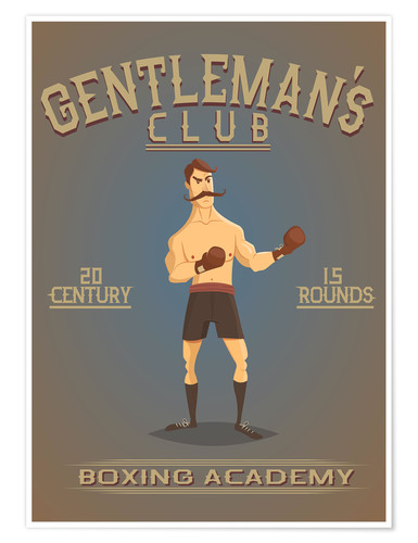 Premiumposter Boxing Academy
