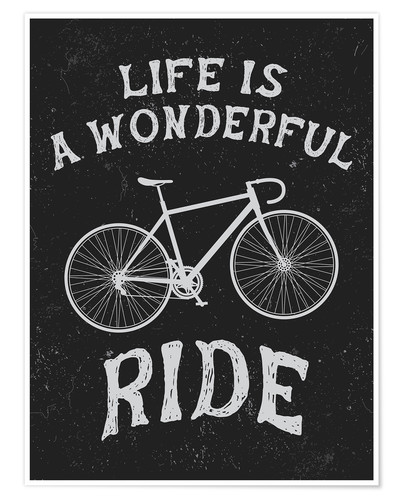 Premiumposter Life is a wonderful ride