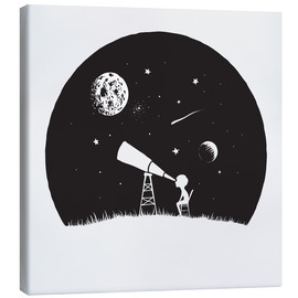 Canvastavla  Looking into the stars - Kidz Collection