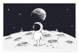 Premiumposter  Little astronaut - Kidz Collection