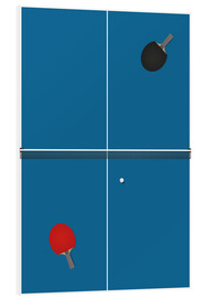 PVC-tavla  Table tennis match
