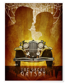 Premium poster  The Great Gatsby - Albert Cagnef