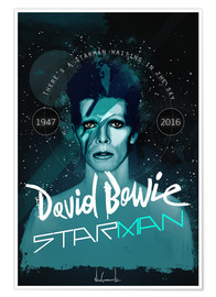 Premiumposter david bowie
