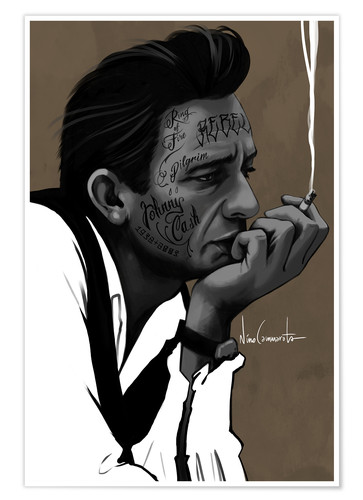 Premiumposter johnny cash
