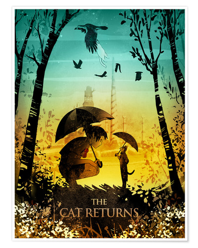 Premiumposter The Cat Returns