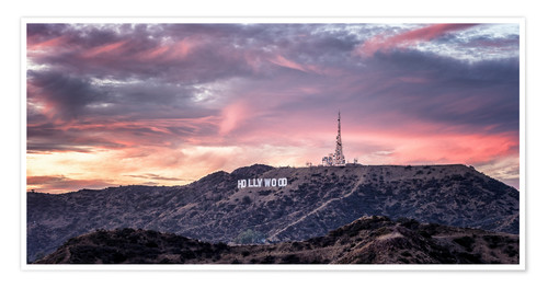Premiumposter  Hollywood Hills