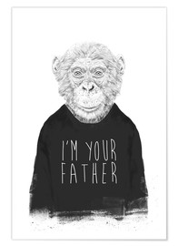 Premiumposter  I'm your father - Balazs Solti