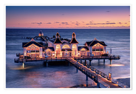 Premiumposter  Sellin Pier - Tanja Arnold Photography