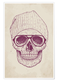 Premiumposter cool skull
