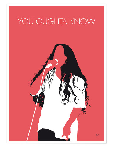 Premiumposter Alanis Morissette - You Oughta Know
