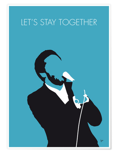 Premiumposter Al Green - Let's Stay Together