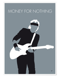 Premiumposter Mark Knopfler - Money for nothing