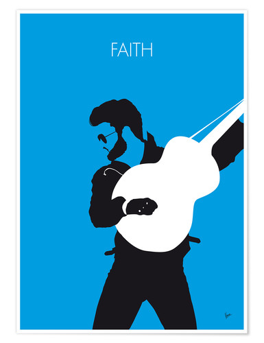 Premiumposter George Michael - Faith
