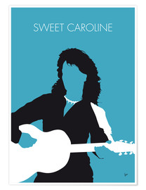 Premiumposter Neil Diamond - Sweet Caroline