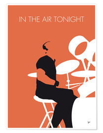 Premiumposter Phil Collins - In The Air Tonight