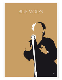 Premiumposter Billie Holiday - Blue Moon