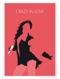 Premiumposter Beyoncé - Crazy In Love