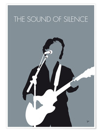 Premiumposter Paul Simon - The Sound Of Silence
