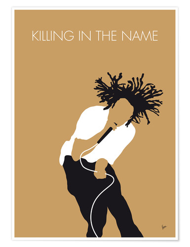 Premiumposter Rage Against The Machine - Killing In The Name