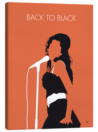 Canvastavla  Amy Winehouse - Back To Black - chungkong