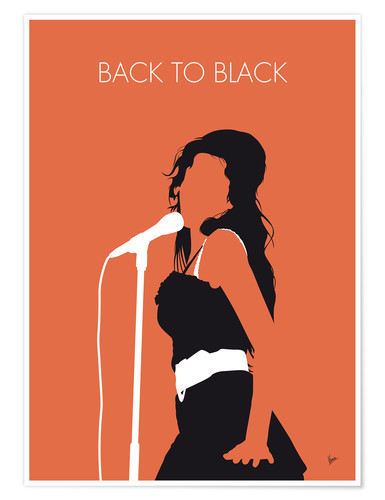 Premiumposter Amy Winehouse - Back To Black