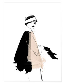Premiumposter Fashion illustration 1920s