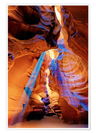 Premiumposter Upper Antelope Canyon Beam