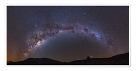 Premiumposter southern Milky Way