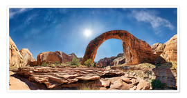 Premiumposter Rainbow Bridge, Lake Powell, USA