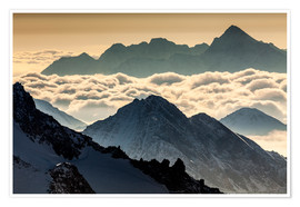 Premiumposter Alps - France